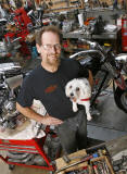 Mike Roberts/Owner- Underground Motorcycles, Riviera Beach, FL.  © Michael Price Photography 2008